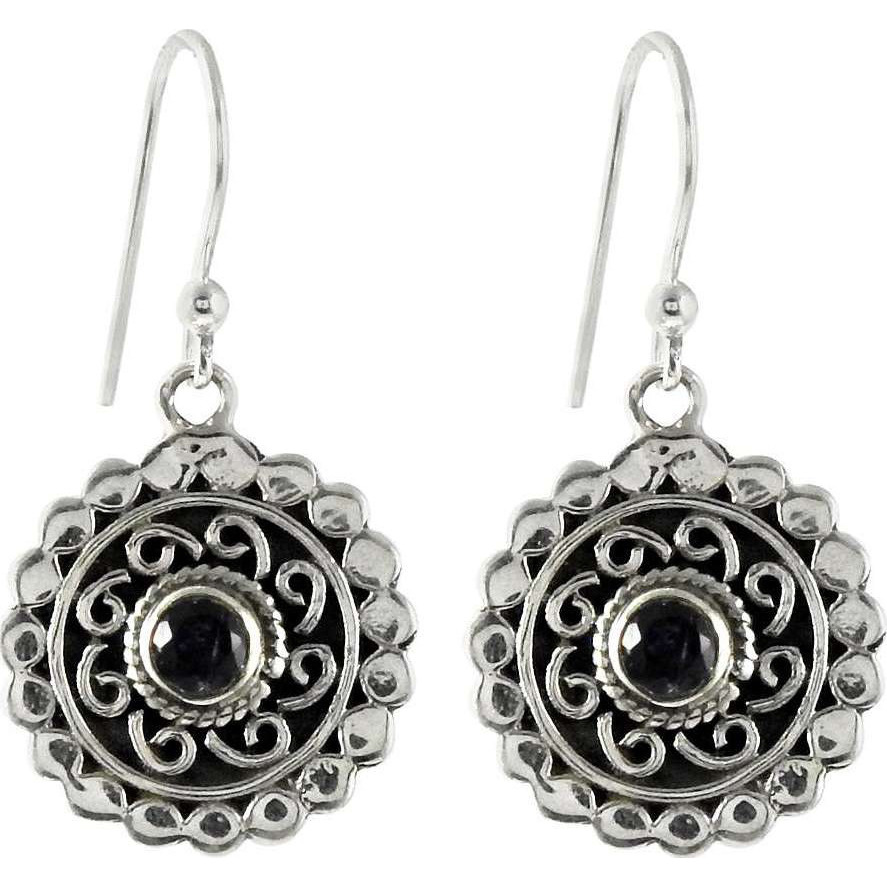 New Design!! Iolite 925 Sterling Silver Earrings
