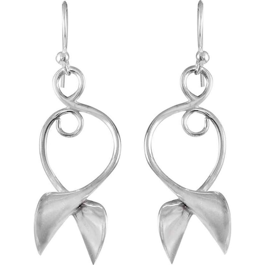 Stylish Design ! 925 Sterling Silver Earrings