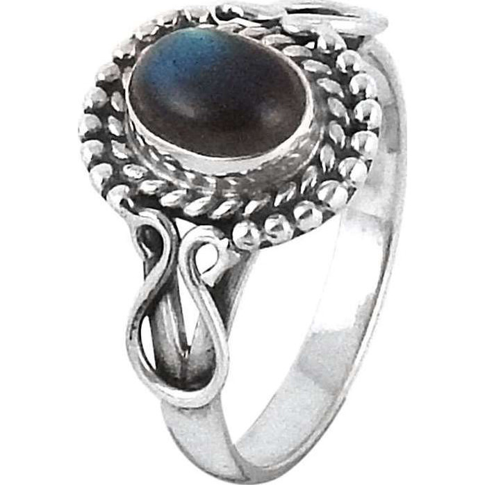 So In Love! 925 Silver Labradorite Ring