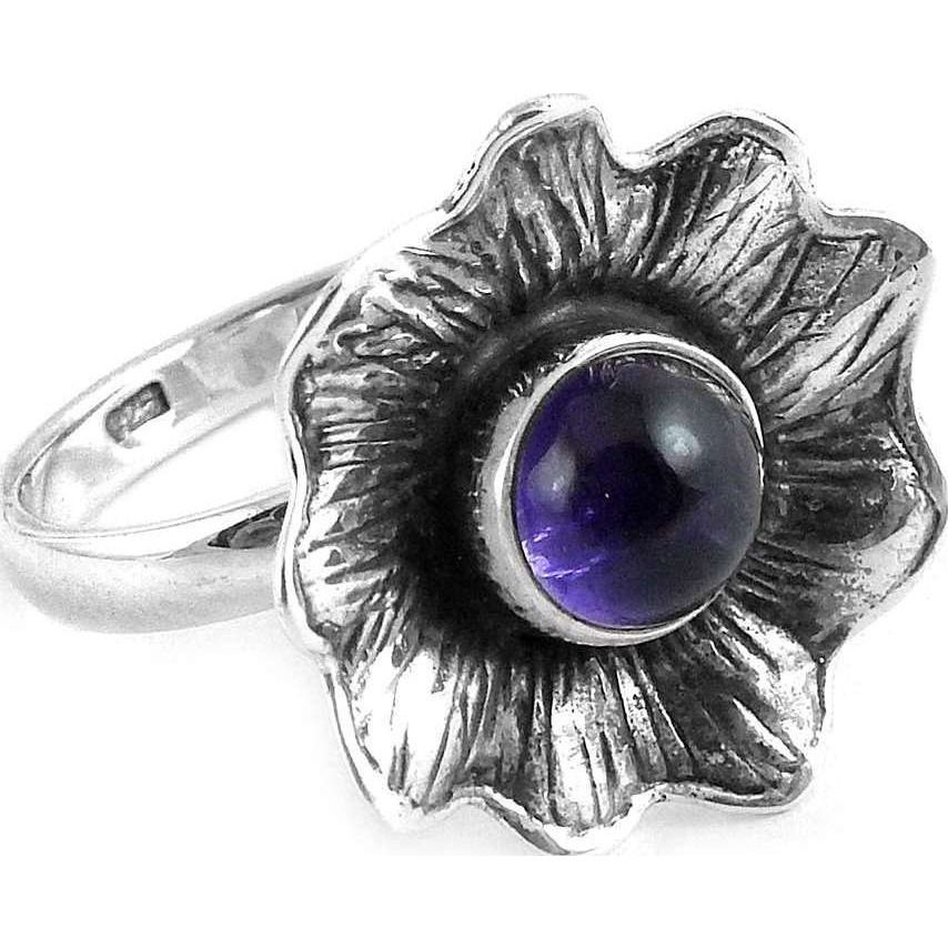 Fantastic Quality Of! 925 Silver Amethyst Ring