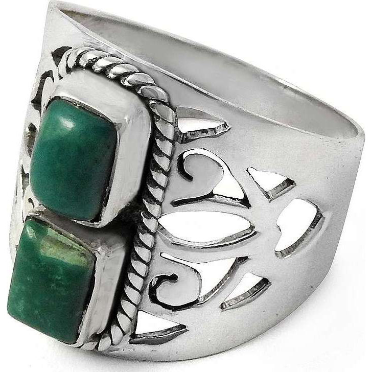 A Secret! 925 Sterling Silver Turquoise Ring