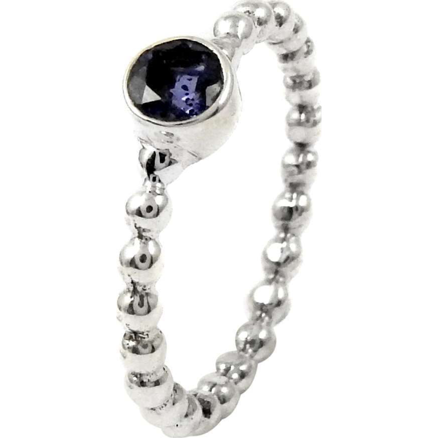 Breathtaking!! Iolite 925 Sterling Silver Ring