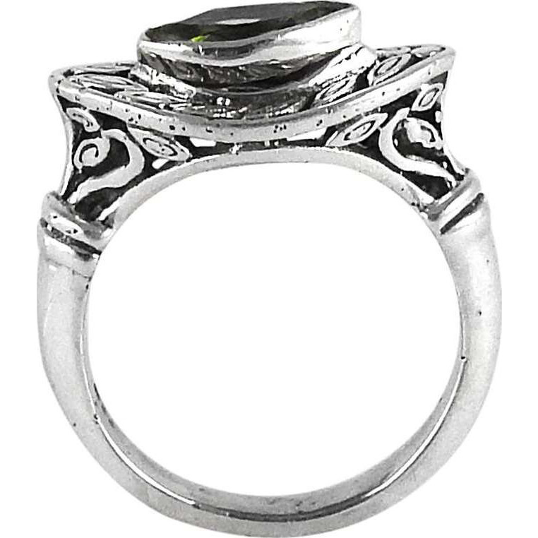 Colour Changing!! Peridot 925 Sterling Silver Ring