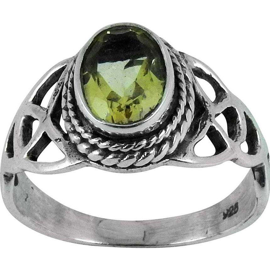 Amazing!! Citrine 925 Sterling Silver Ring