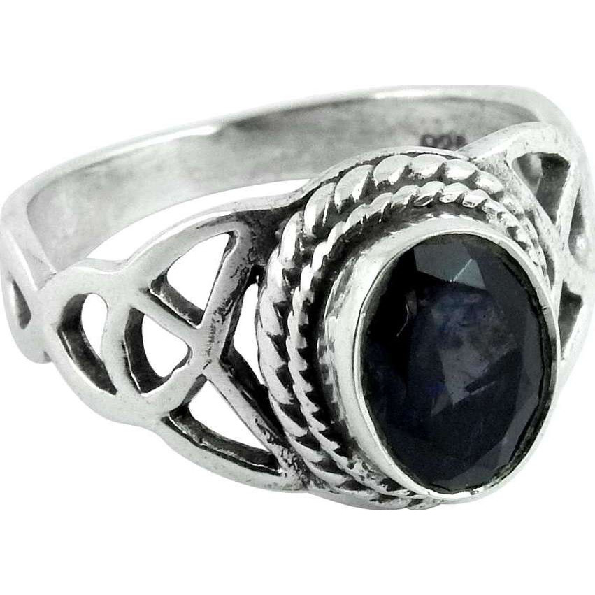 Just Perfect!! Iolite 925 Sterling Silver Ring