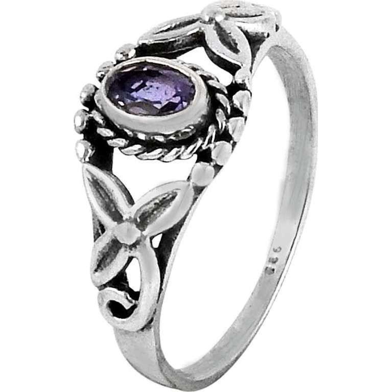 Royal Style!! 925 Sterling Silver Amethyst Ring