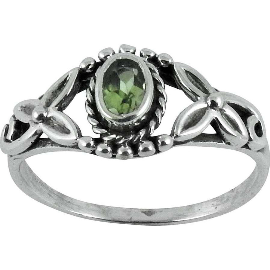 Perfect! Peridot 925 Sterling Silver Ring