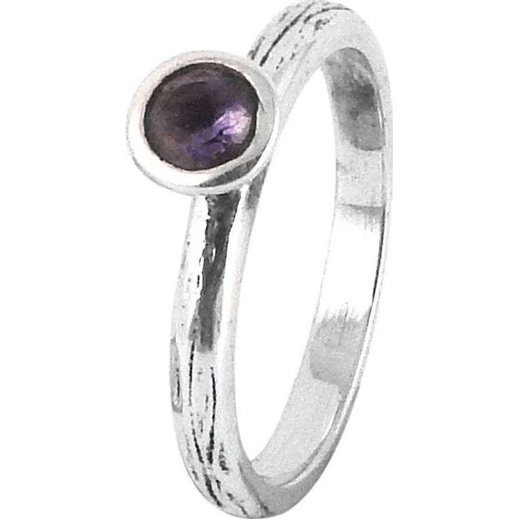 Very Delicate! Amethyst 925 Sterling Silver Ring