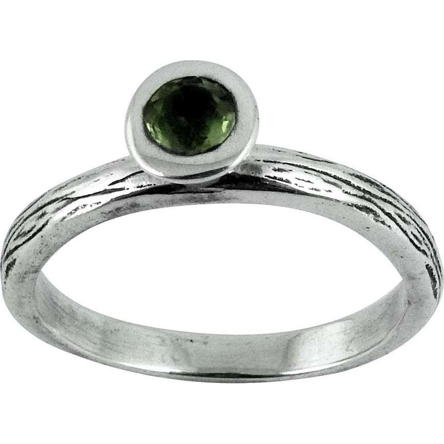 Gorgeous Design!! Peridot 925 Sterling Silver Ring