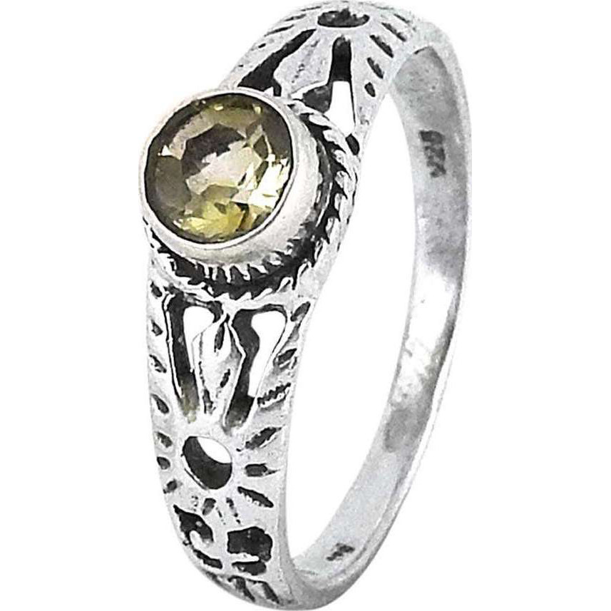 My Sweet!! Citrine 925 Sterling Silver Ring