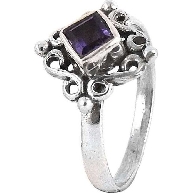 New Exclusive Style!! Amethyst 925 Sterling Silver Rings