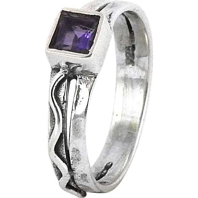 Fantastic Quality Of! Amethyst 925 Sterling Silver Ring