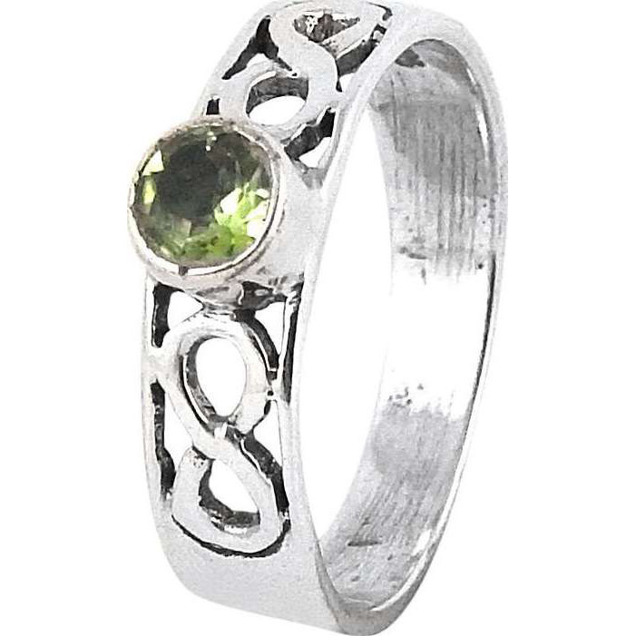 Amazing ! Peridot 925 Sterling Silver Ring
