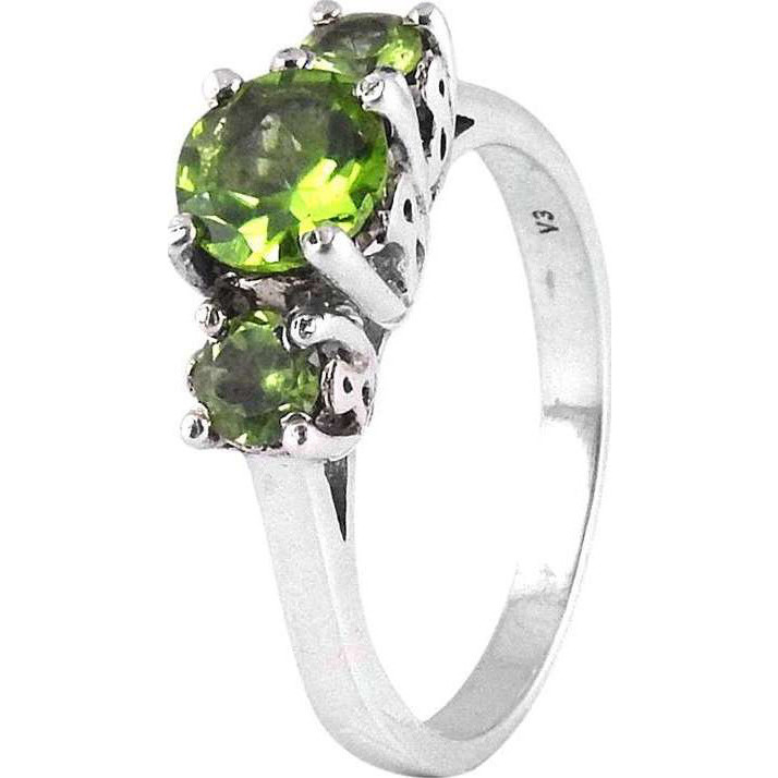 Spell!! Peridot 925 Sterling Silver Rings