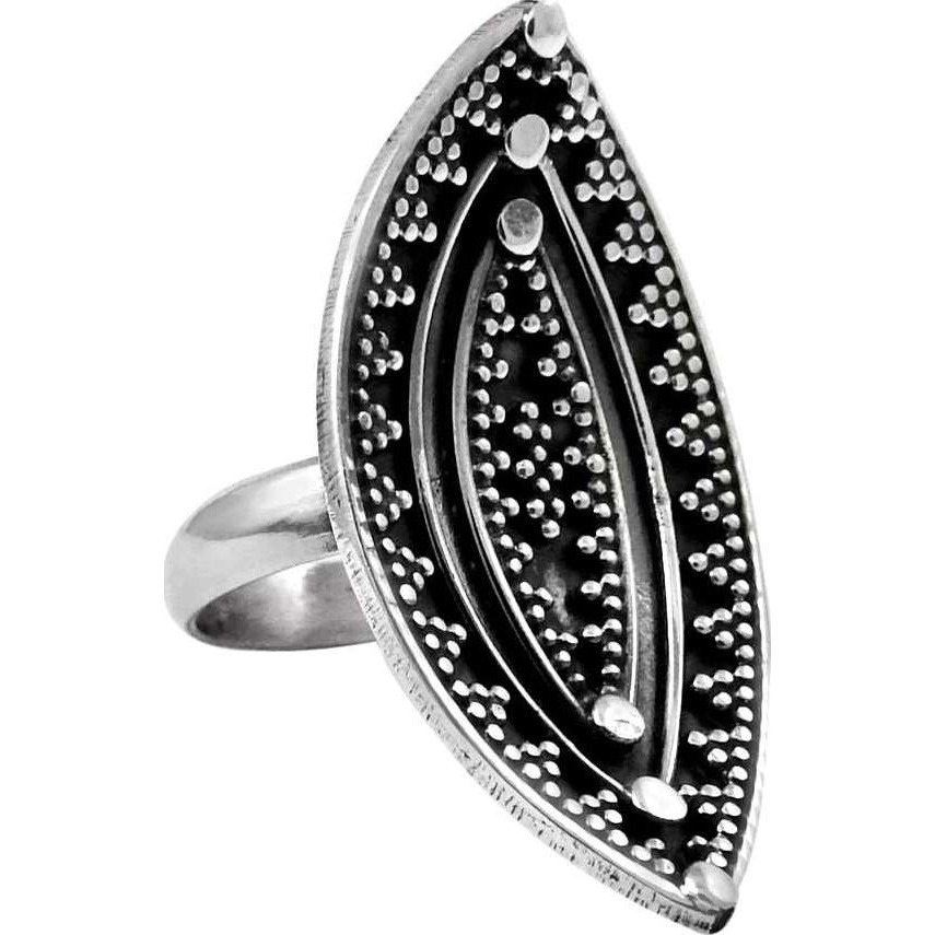 Abstract! 925 Sterling Silver Ring