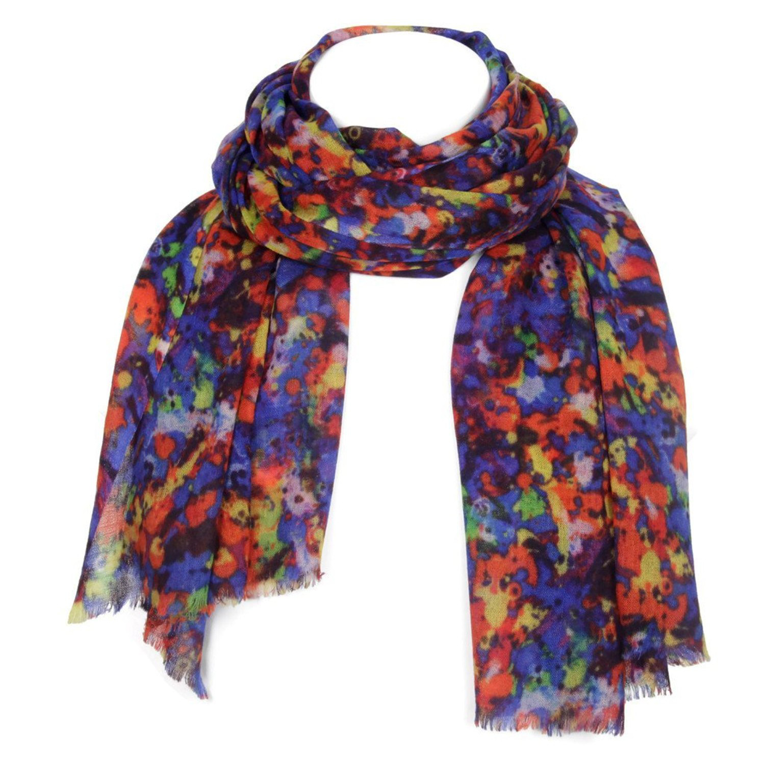 Women's Warm Scarf Ladies Girls Wraps Soft Shawls Scarves Stoles Kashmir KASHFAB