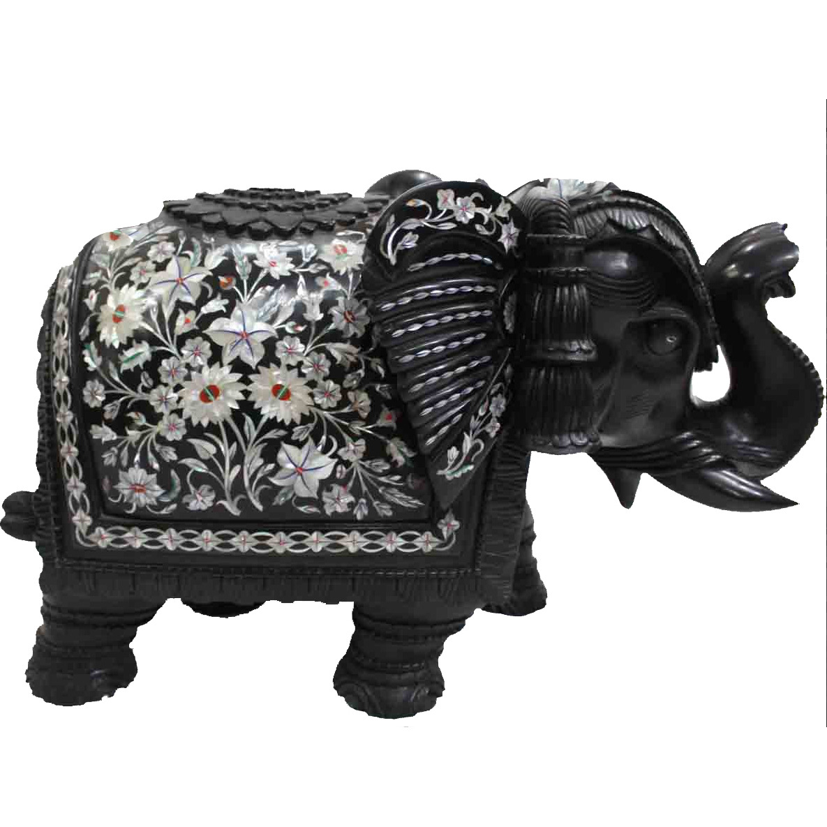 Buy Online Black Marble Elephant From Usa Zifiti Com Page