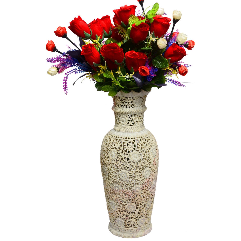 225 & Marble Flower Vase