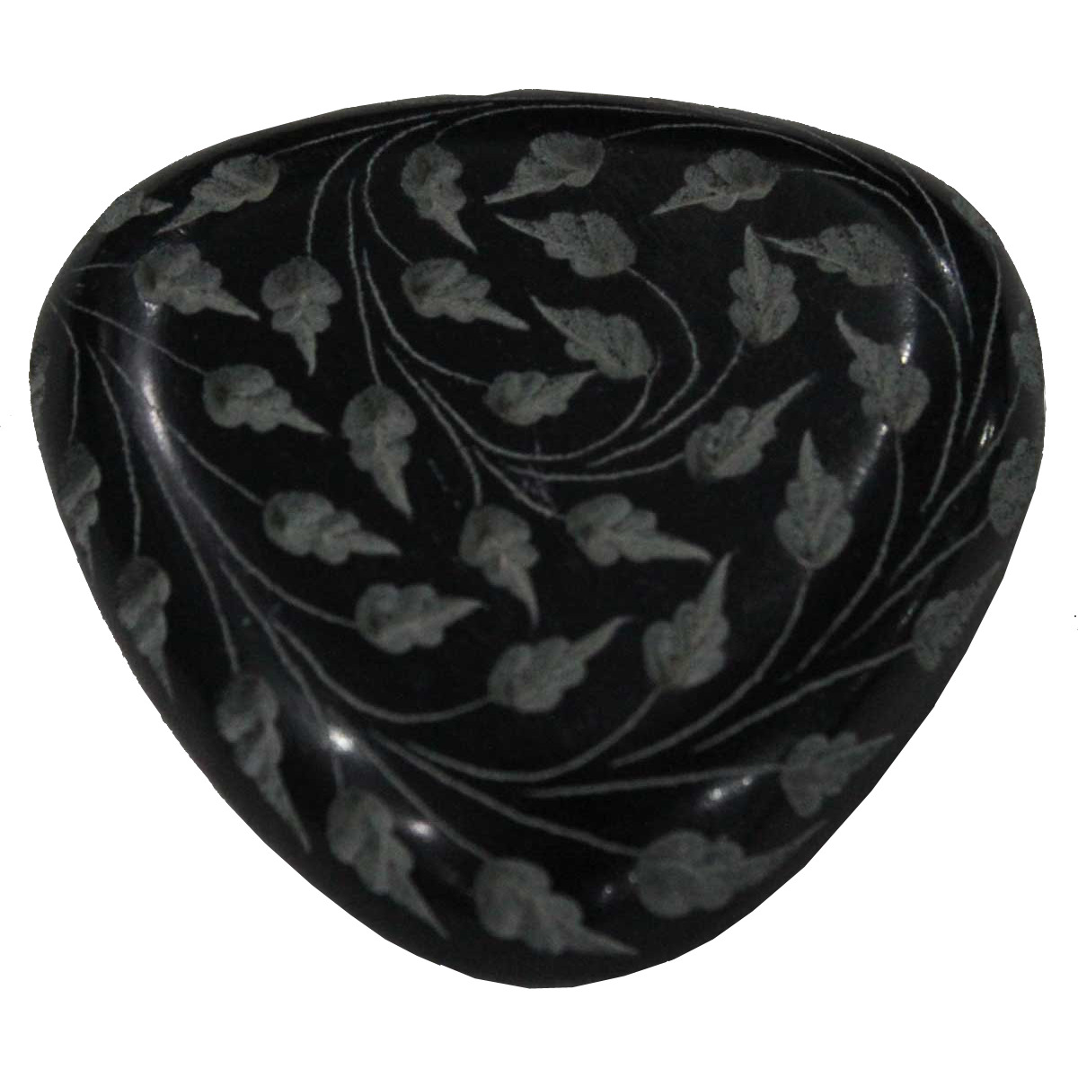Black Marble Paperweight