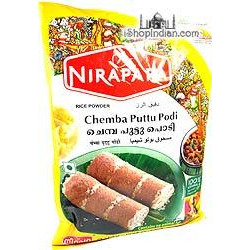 Nirapara Chemba Puttu Podi - Brown Rice Flour