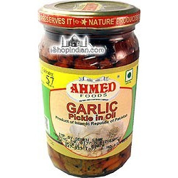 Ahmed Garlic Pickle (330 gm bottle)