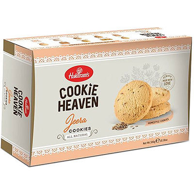 Haldiram's Cookie Heaven - Jeera (cumin) Cookies (7 oz pack)