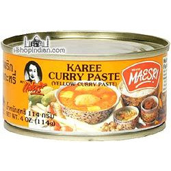 Maesri Yellow Curry Paste - 4 oz