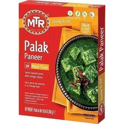 MTR Palak Paneer (Ready-to-Eat)