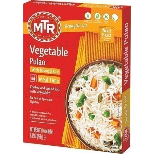 MTR Vegetable Pulao (Ready-to-Eat)