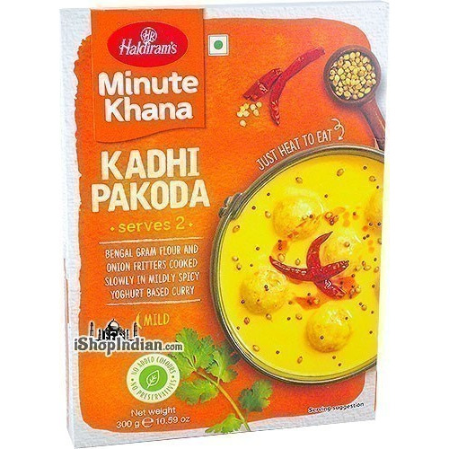 Haldiram's Kadhi Pakoda - Minute Khana (Ready-to-Eat)
