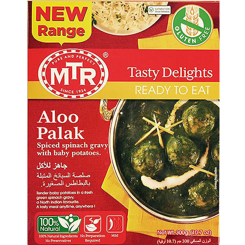MTR Aloo Palak (Ready-to-Eat)