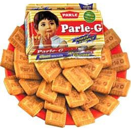 Parle-G Glucose Biscuits (4-packs) (4 - 56.4 gms packs)