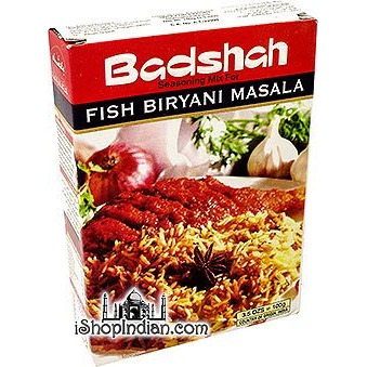 Badshah Fish Biryani Masala (100 gm box)