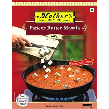 Mother's Recipe Paneer Butter Masala Mix (75 gm pack)