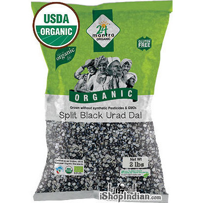 24 Mantra Organic Urad Black Split