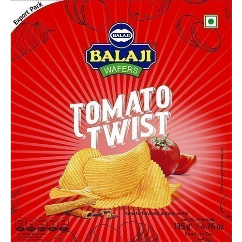 Balaji Wafers Tomato Masti Potato Chips