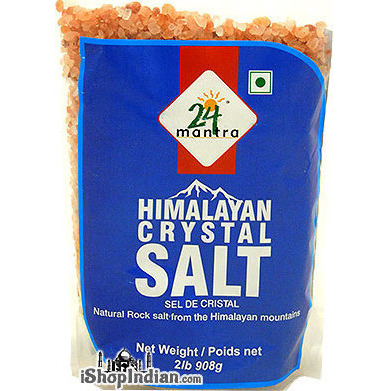24 Mantra Himalayan Crystal Salt