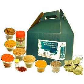 Spices of India: Deluxe Set