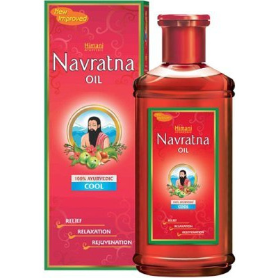 Himani Navratna Oil - Herbal Cooling Massage Oil
