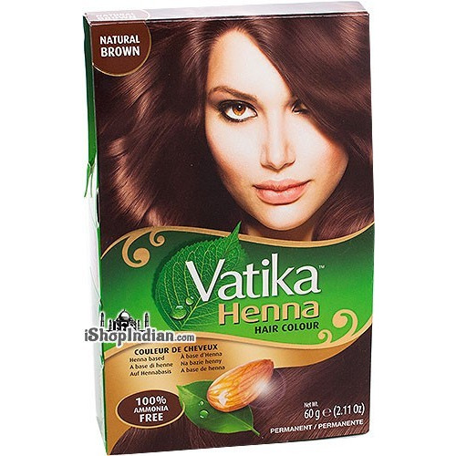 Vatika Henna Hair Colors - Natural Brown
