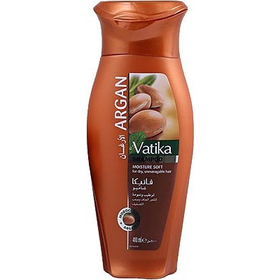 Dabur Vatika Naturals Argan Shampoo (400 ml bottle)
