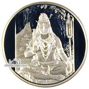 Shiva .999 Silver Coin - 1 troy ounce (31 gms)