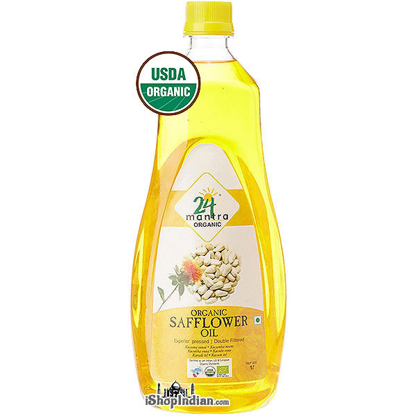 24 Mantra Organic Safflower Oil - 1 liter