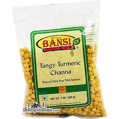 Bansi Tangy Turmeric Channa (7 oz bag)