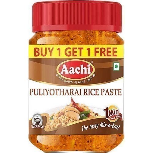 Aachi Puliotharai - Tamarind Rice Paste (10.5 oz bottle)