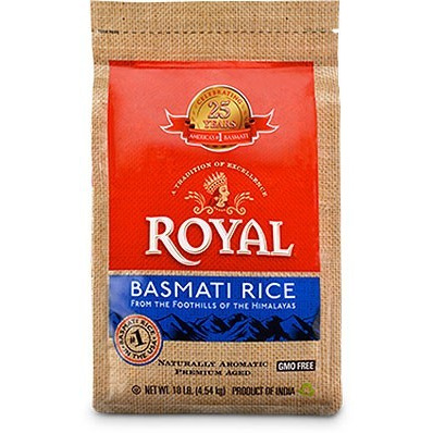 Royal Basmati Rice - 10 lbs (10 lbs bag)