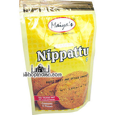 Maiyas Baked Nippattu (Baked Sweet & Spicy Crackers)