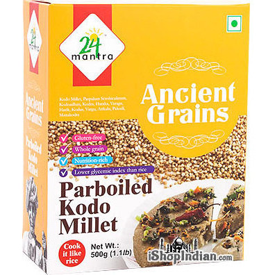 24 Mantra Ancient Grains Parboiled Kodo Millet