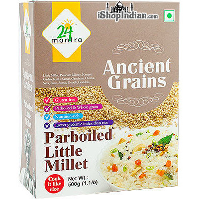 24 Mantra Ancient Grains Parboiled Little Millet