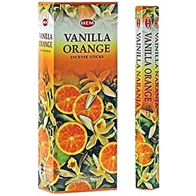 Hem Vanilla Orange Incense - 120 sticks